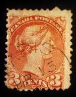 1870 Canada Yt 30a ? Queen Victoria  Oblitéré - 1851-1902 Règne De Victoria