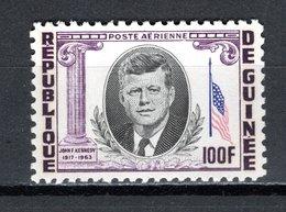 GUINEE PA N° 40  NEUF SANS CHARNIERE COTE 2.30€  PRESIDENT KENNEDY - Guinée (1958-...)