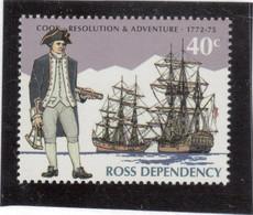B1 - ROSS DEPENDENCY ** MNH De 1995 - JAMES COOK - RESOLUTION Et ADVENTURE - 1772 -1775. - Neufs