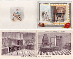 """Fourneaux """"Briffault"""" G. Drouet  - Brochure Illustrée De 8 Pages (110642) - Publicités"""