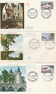 1311 à 1318 Série 8 FDC - 1960-1969