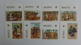 Togo 1981** Mi.1434-41. Marketplace MNH Imperforated [17;131] - Cultures