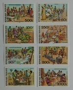 Togo 1981** Mi.1520-27. Marketplace MNH Imperforated [17;132] - Cultures