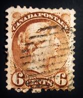 1870 Canada  Queen Victoria  7 Timbres 7 Scans . Oblitérés - 1851-1902 Règne De Victoria