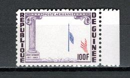 GUINEE PA  N° 40  NEUF SANS CHARNIERE COTE ? € VARIETE SANS LE PRESIDENT KENNEDY - Guinée (1958-...)