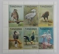 Tanzania 1994** ABCDEF 1738. Birds MNH [8;109] - Non Classificati