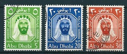 Abu Dhabi 1964  Fm  5,20,30 NP  Mi-Nr. Ex 1/11 Gestempelt/used - Abu Dhabi