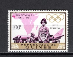 GUINEE PA N° 50  NEUF SANS CHARNIERE COTE 2.00€  JEUX OLYMPIQUES TOKYO - Guinée (1958-...)