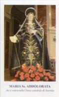 Isernia - Santino MARIA SANTISSIMA ADDOLORATA - PERFETTO P87 - Religione & Esoterismo