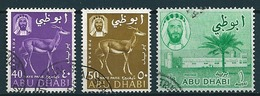 Abu Dhabi 1964  Fm 40,50 NP, 1 R  Mi-Nr. Ex 1/11 Gestempelt/used - Abu Dhabi