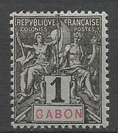GABON N° 16 NEUF* CHARNIERE TB / MH - Gabon (1886-1936)