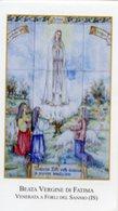 Forli Del Sannio (Isernia) - Santino BEATA VERGINE DI FATIMA - PERFETTO P87 - Religione & Esoterismo