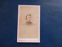 CDV ANCIEN 1840-1860 JEUNE FILLE PORTRAIT PHOTO CARETTE 59 LILLE - Anciennes (Av. 1900)