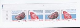 VP8L4 TAAF FSAT Antarctique Antarctic Neufs°° MNH Minéraux Zircon Bande 2011 578 579 - Terre Australi E Antartiche Francesi (TAAF)