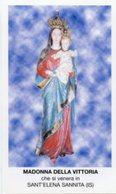 Sant'Elena Sannita (Isernia) - Santino MADONNA DELLA VITTORIA - PERFETTO P87 - Religione & Esoterismo
