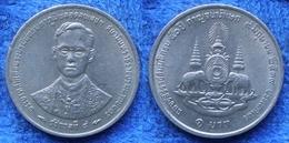 THAILAND - 1 Baht BE2539 1996AD Y# 330 Rama IX (1946) - Edelweiss Coins - Thaïlande