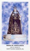 Sant'Elena Sannita (Isernia) - Santino MARIA SS. ADDOLORATA - PERFETTO P87 - Religione & Esoterismo