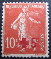 R1606/66 - 1914 - CROIX ROUGE - N°146 (*) - Cote : 6,00 € - France