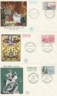 1295 à 1299 Série 6 FDC - 1960-1969