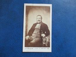 CDV ANCIEN 1840-1860 HOMME COSTUME PHOTO WITZ 76 ROUEN - Anciennes (Av. 1900)