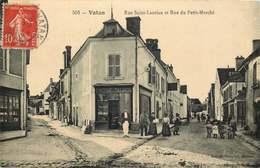 INDRE VATAN  Rue Saint Laurian Et Rue Du Petit Marché - Francia