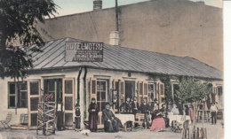 Old Postcard Strehaia Hotel Motru - Romania