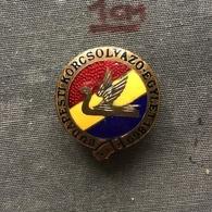 Badge Pin ZN007554 - Ice Skating Hungary Association BKE (Budapesti Korcsolyázó Egylet) - Skating (Figure)