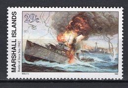 MARSHALL ISLANDS - 1992 History Of The Second World War - Battle Of The Java Sea, 1942  M546 - Marshall