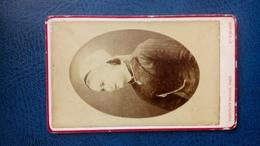 Cdv Photo Coiffe Bretonne St Nazaire - Anciennes (Av. 1900)