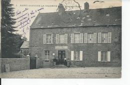 SAINT SAUVEUR LE VICOMTE   L'hotel Des Postes 1917 - Saint Sauveur Le Vicomte