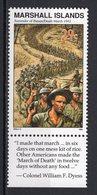 MARSHALL ISLANDS - 1992 History Of The Second World War - Surrender Of Bataan, 1942  M552 - Marshall