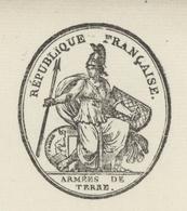 Paris Armée De Terre An 10 - 4.1.1802 Police Militaire Gouda Hollande Généalogie Verrier Angeot Héraldique - Documents Historiques