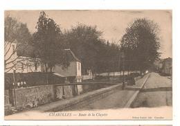 Charolles - Route De La Clayette -  CPA° - Charolles