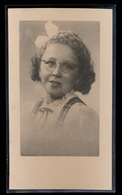 ODETTE VOLCKAERT - MERELBEKE 1930 - 1941 - 2 SCANS - Décès