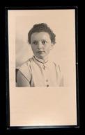 JOSEPHA ROMAN  ST.MARIA HOREBEKE 1927 - ONGEVAL GENTBRUGGE 1952 - 2 SCANS - Décès
