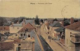 10 - Aube / 10013 - Piney - Panorama - Carte Toilée Et Colorisée - Autres Communes