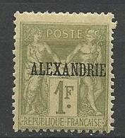 ALEXANDRIE N° 16 NEUF* CHARNIERE TB / MH - Alexandria (1899-1931)