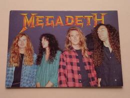 MEGADETH ( Heroes London ) Anno 19?? ( See/zie/voir Photo ) ! - Chanteurs & Musiciens