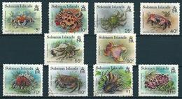 Salomon-Inseln 1993  Fm Krebstiere  Mi-Nr. Ex 807/21  Gestempelt/used Und Postfrisch MNH - Salomoninseln (Salomonen 1978-...)