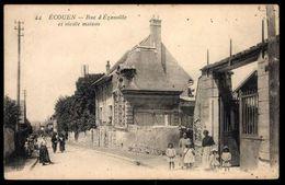 Ecouen (95) - Rue D'Ezanville Et Vieille Maisons (RARE JAMAIS VU) - Ecouen