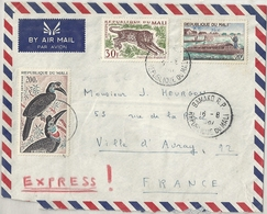 Mali Lettre Affranchie - Mali (1959-...)