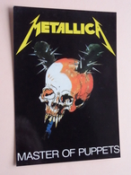 METALLICA Master Of Puppets ( 1363 - Made In E.E.C. ) Anno 19?? ( See/zie/voir Photo ) ! - Chanteurs & Musiciens