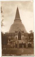 Foto-Cartolina NAKORN PATHOM - GIANT PAGODA  - FORMATO PICCOLO - VIAGGIATA - (rif. B33) - Thailand