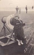 NECOCHEA, PLAYA BEACH PLAGE, PETIT FILLE NIÑA LITTLE GIRL. VOYAGEE 1917, L'ARGENTINE - BLEUP - Photographs