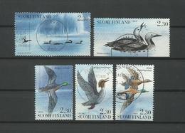 Finland 1994  Birds Y.T. 1189/1193 (0) - Finland
