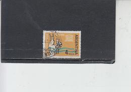 ARGENTINA  1963 - Yvert 674 -  UNESCO - Nubia - Argentina