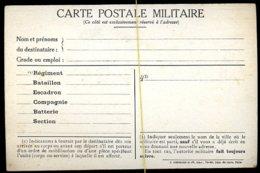 """CP Militaire: Prime Offerte Par """"la Marseillaise"""" - Guerre 1914-18"""