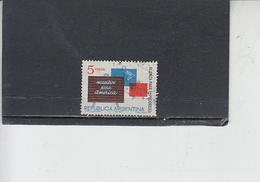 ARGENTINA  1963 - Yvert 677 -  Progresso - Argentina
