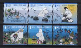 Finland 2007 Moomin  Y.T. 1820/1825 (0) - Finland