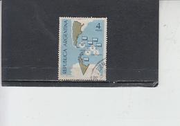 ARGENTINA  1964 - Yvert  684 - Antartico - Usati